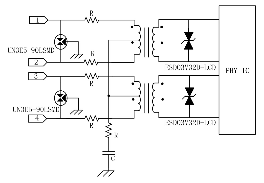 un semiconductor tvs diodes esd diodes tvs diode arrays